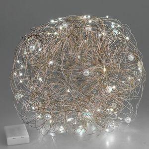 Formano - Draht Kugel 30 gold mit Licht