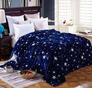 Kuscheldecke Wolldecke Tagesdecke Warm Wohndecke Weich Bettüberwurf Flanell 200x230 cm