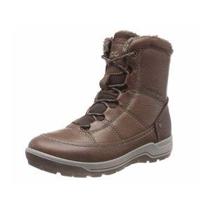 ecco Trace Damen Stiefel Braun Schuhe, Größe:39