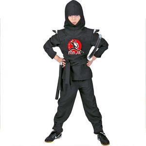 Kinderkostüm Black Ninja Gr. 140