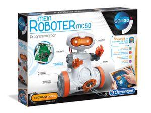 Clementoni 59158 Galileo Science Mein Roboter MC 5.0, Experimentierkas