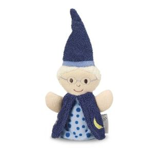 Sterntaler Babyspielzeug Zauberer und Hexe Fingerpuppe