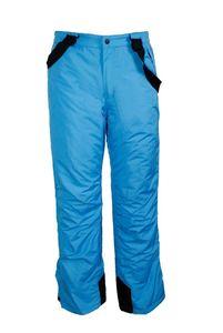 Kinder Mädchen Skihose Schneehose Snowboardhose Winterhose - Blau, 146/152 (Farbe: Blau, Größe: 146/152)