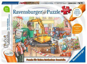 tiptoi® Puzzle für kleine Entdecker: Baustelle Ravensburger 00049