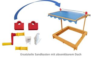 Ersatzteil Kurbel für Sandkasten mit Dachlift