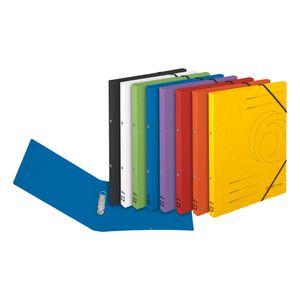 8x Herlitz Ringhefter / Ringbuch / A4 / Colorspan-Karton / 8 verschiedene Farben