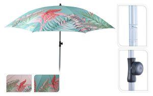 Sonnenschirm Strandschirm UV-Schutz 40+ Schirm Balkonschirm Ø 175 cm rosa