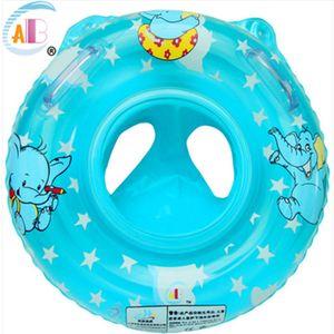 Baby-Schwimmring Aufblasbarer Schwimmersitz Baby Kinder Blau Wasser Pool Schwimmhilfe Spielzeug