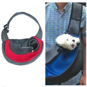 Tragetasche für Hunde Haustier Tragetasche Hund Travel Tote Schultertasche Rucksack bis 8 kg