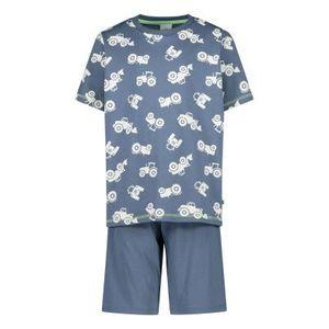Sanetta Jungen Pyjamas-Nachtwäsche in der Farbe Blau - Größe 140