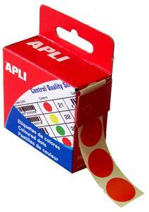 agipa Markierungspunkte Durchmesser: 15 mm rund rot 150 Stück