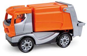 LENA® 01623 - Truckies Müllwagen, mit Spielfigur, Müllauto, Sandspielzeug 4006942841400