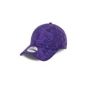 New Era 9FORTY NBA Los Angeles Lakers Camo Cap Erwachsene lila OS