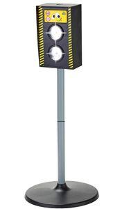 Blitzer Radarfalle Kinder Verkehrserziehung Spielzeug Radargerät mit Licht Sound