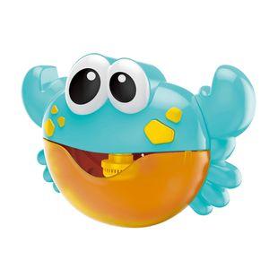 Baby Badespielzeug Bubble Krabbe Badewanne Blase Maschine Wasserspielzeug Blasen Automatisch-Sprühen mit Musik für Kinder Geschenk Blau 9,45 x 2,76 x 6,10 Zoll Crab Bath Bubble Toy Blase Spielzeug