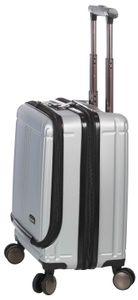 Business Travel Pilotenkoffer Bordgepäck Koffer Akten Trolley Silber Bowatex