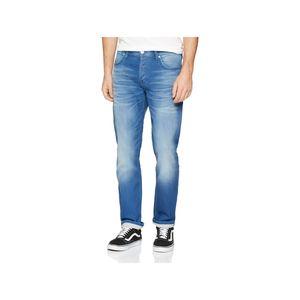 Jack & Jones Herren Jeans 12147077 Blue Denim