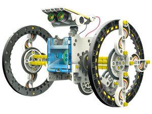 Velleman Bausatz - KSR13 - 14-in-1 Solar-Roboter - Lernpaket