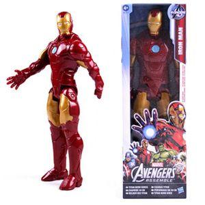 29cm Marvel The Avengers Superheld ActionFigur Figuren Spielzeug Weihnachtsgeschenk Geburtstagsgeschenk Geschenke für Kinder , Iron Man