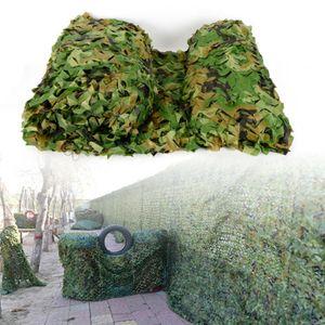 6M x 4M Camouflage Jagd Tarnnetz Abdeckung Militärnetz Tarn Camo Ausblenden Netz für CS/Cosplay/Garten