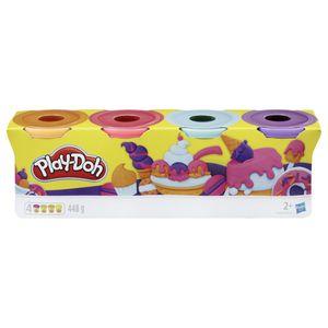 Play-Doh E4869ES0, Knetmasse, Mehrfarbig, Kinder, 2 Jahr(e), 4 Stück(e)