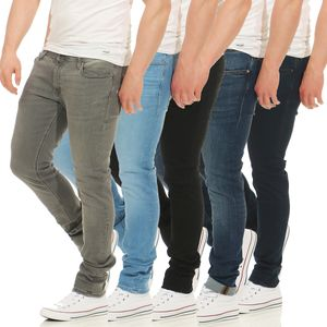 Jack & Jones Herren Jeans JJILIAM JJORIGINAL schwarz  , Weite/Länge:33/34