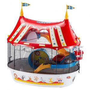 hamsterkäfig Circus Fun 49,5 x 42,5 cm Stahl 8-teilig