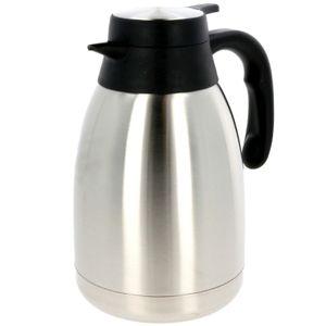 Edelstahl Isolierkanne 1,5 Liter Thermoskanne Isokanne Kaffeekanne Kanne