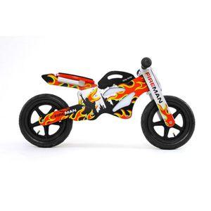 Milly Mally Kinderlaufrad Motorrad Feuerwehrmann