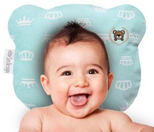 Sei Design Baby Kopfkissen Bärchen 21x25 Mikrofaser 1-8 Monate