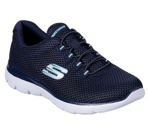 Skechers Summits Damen Sneaker Blau Schuhe, Größe:39