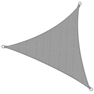 Sol Royal SolVision HDPE Sonnensegel HS9 Dreieck, color:Grau, Größe:300x300x300 cm