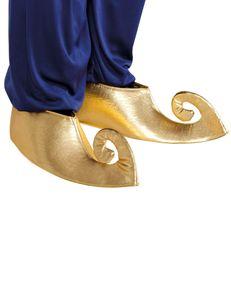 Orientalische Schuh-Stulpen gold