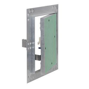 Revisionsklappe Alu Rahmen 20x25cm 12,5mm Einlage GK Gipskarton Revisionstür