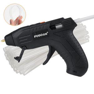 Kabellose Heißklebepistole Reparatur Heißluftpistole USB + 100x Klebesticks DIY Bastelsets