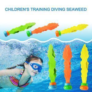 3PCS Tauchball Luftschlangen Schwimmbadespielzeug Unterwasserspieltraining JIL210302057