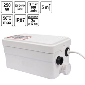 FALA WC Hebeanlage 250 Watt ohne Schneidwerk 75945