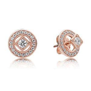 Pandora Rose 280721CZ Earrings Ohrringe Vintage Allure Zauber
