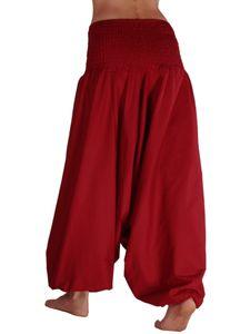 Aladinhose für Damen, Haremshose aus Fairtrade-Baumwolle