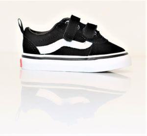 Vans Uni Baby Ward Suede Sneaker Schwarz Gr. 18,5