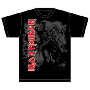 Iron Maiden Hi Contrast Trooper Mens T Shirt: Small