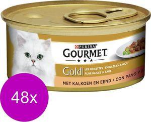 Gourmet Gold katzenfutter Fine Bites 48 x 85g