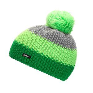 Eisbär Bommelmütze für Herren Star Pompon MÜ aus 50% Wolle, Größe:One Size, Farbe:Grün