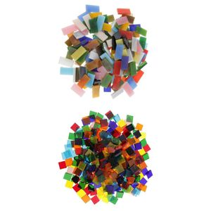 360g Mosaikfliesen Mosaik Glasmosaik Mosaiksteine Bastelmix Dekoration