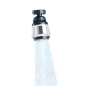 Schwenkstrahlregler 6cm Wasserhahnaufsatz Perl- oder Duschstrahl Verstellbar Strahlregler Brause Schwenkbrause Wasserhahn Aufsatz Wassersparer