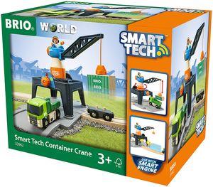 BRIO Bahn 33962 - Smart Tech Große Container-Verladestation
