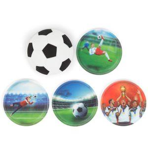 Ergobag Klettie-Sets (5-tlg.), Fußball Special Edition