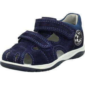 Richter Jungen Sandale in Blau, Größe 20