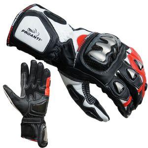 Motorradhandschuhe Racing Pro rot von PROANTI® - Größe M