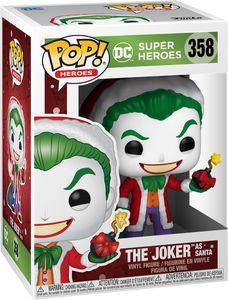 DC Super Heroes - The Joker as Santa 358 - Funko Pop! - Vinyl Figur